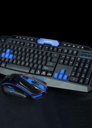 Беспроводная Клавиатура + Мышь 8100 Мышка Портативная Игровая ...