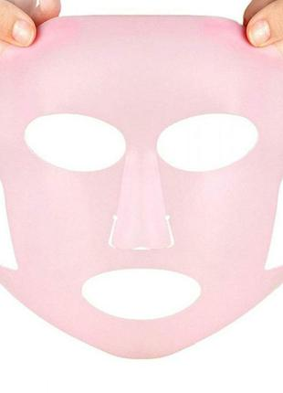 Силиконовая маска для лица. многоразовая!