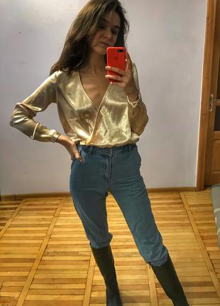 Атласна блуза від Vero moda