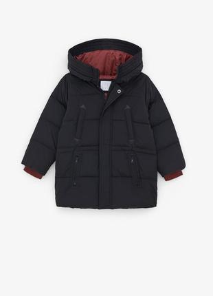 Пуховая куртка zara 6 лет, 116 см для мальчика