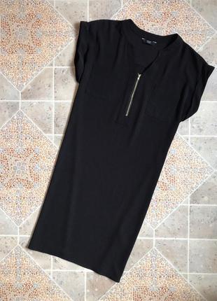 Черное платье рубашка f&f
