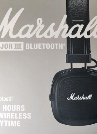 Наушники Marshall Major III Bluetooth (Black)