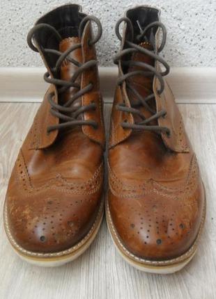 Кожаные ботинки  crevo