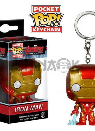 Брелок FUNKO POCKET POP! Iron Man (Железный человек)