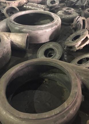 Корпуса насосов, отлив из металла
