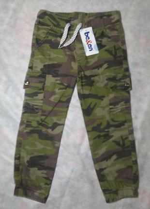 Военные брюки на мальчика 3-5 лет (длина 58 см)