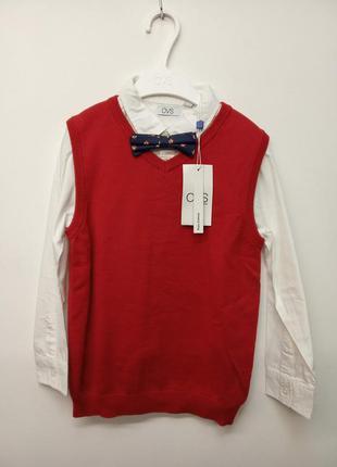 Рубашка и жилетка ovs, италия