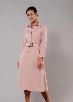 Легкое женское платье миди S M L