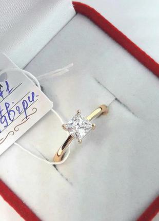 Позолоченное кольцо позолота