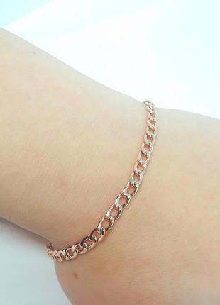 Позолоченный браслет позолота 18 см