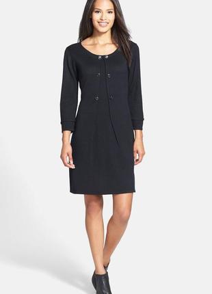 Платье-свитер с рукавами 3/4 в деловом стиле (usa) m