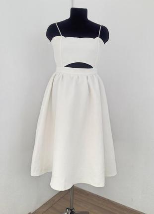 Шикарне  плаття міді