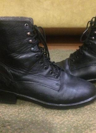 Ботинки полусапожки боты челси кожаные