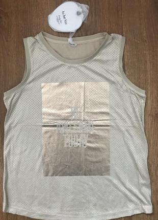 Майка/блузка для девочки tobetoo