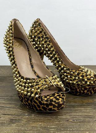 Туфли эксклюзивные vince camuto, кожаные