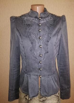 🔥🔥🔥стильный котоновый женский пиджак, жакет, куртка на пуговиц...