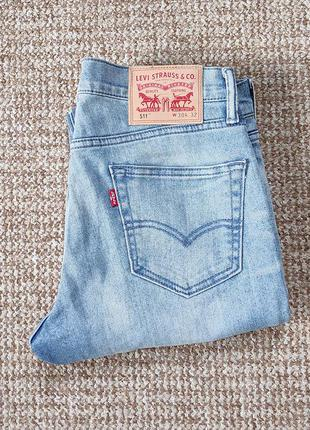 Levi's 511 slim fit джинсы оригинал (w30 l32)