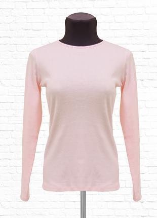 Лонгслив для девочки 146-152. Розовый.