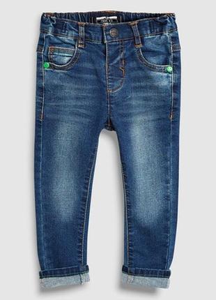 1,5-2 года, джинсы скини next.