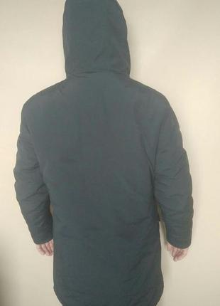 M розм куртка довга чорна чоловіча pull&bear