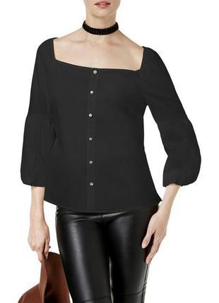 "Рубашка блуза ""готика"" с трансформирующимся  декольте ""каре"" и..."