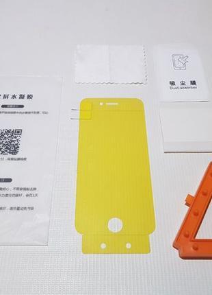 Гидрогелевая пленка стекло для iPhone 6, 6s, 7, 8, Plus, X, Xs...