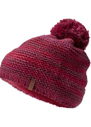 Красивая вязаная шапка с помпоном tcm tchibo