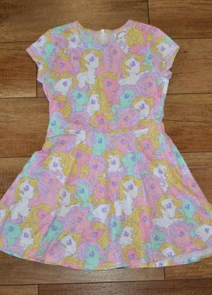 Платье красивое mylittlepony george 128-134 см 8-9 лет