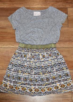 Платье стильное, нарядное tu 134-140 см 9-10 лет