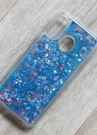 Чехол аквариум с блестками для Samsung Galaxy A40 (sm-a405)