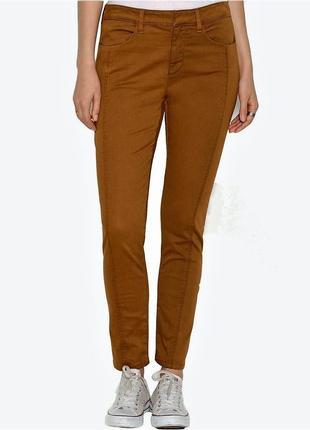 "Джинсы брюки ""skinny"" 29w длина 7/8, посадка ""mid-rise"", цвет ..."