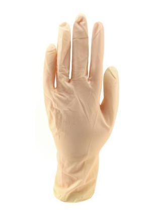 Перчатки латекс  M S L 100 шт