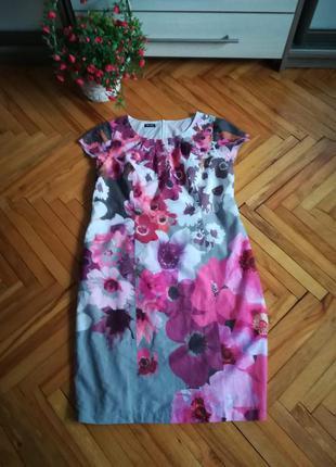 Летнее легкое платье от gerry weber в цветочный принт