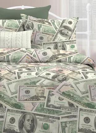 Доллары, постельное белье поплин, 100% хлопок - оригинальный пода