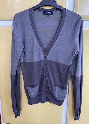 Блуза эксклюзив джерси шёлк max mara размер м