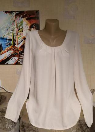 Пудровая блуза