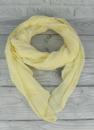 Итальянский шарф girandola 0001-140 желтый с ананасами, коттон...