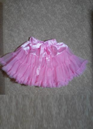 Карнавальная юбка , Юбка для танцев для девочки 3 лет