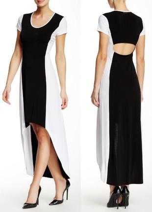 Экстравагантное платье c вырезом на спине marc  new york by an...