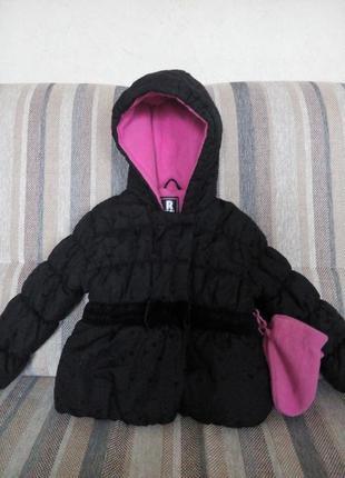 Демисезонная курточка r 1881 s. rothschild по бирке р.24мес