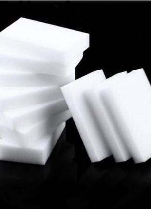 Меламиновая губка (Magic sponge) 10*6*2 см