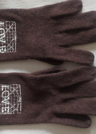Итальянские шерстяные перчатки Moschino