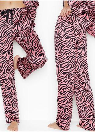 Сатиновые штаны для сна victoria's secret оригинал, пижамные ш...