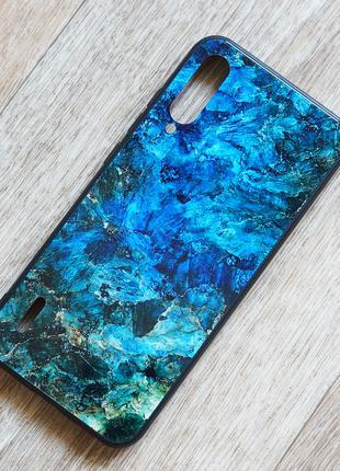Чехол с закаленным стеклом Malachite для Xiaomi Mi A3