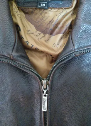 Куртка Wise man кожанная