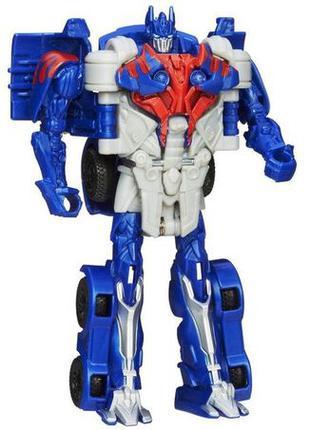 """Робот-трансформер Оптимус Прайм """"Эпоха Истребления"""" Хасбро в 1..."""