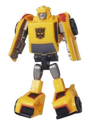 Робот-трансформер Бамблби (Шмель) 8см классический от Hasbro