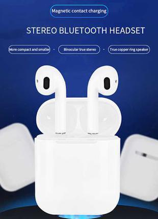 Apple Air Pods i15 TWS Беспроводные Наушники Эпл Сенсорные Blu...