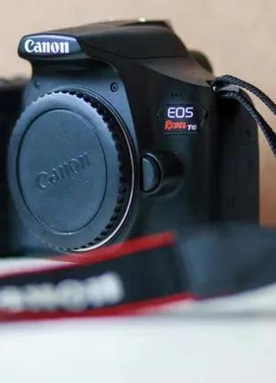 Canon EOS Rebel T6 (1300D) + в подарок объектив 75-300 mm