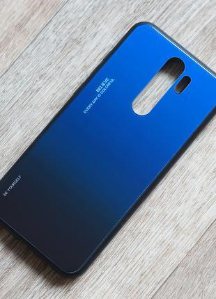 Чехол с закаленным стеклом Gradient для Xiaomi Redmi Note 8 Pro
